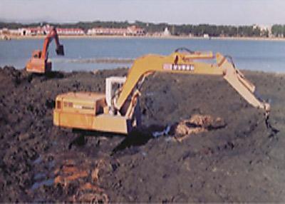 1990년대 : 물순환 단절과 준설로 경포호의 위기